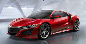 The all-new 2015 Acura NSX.  A thing of beauty.