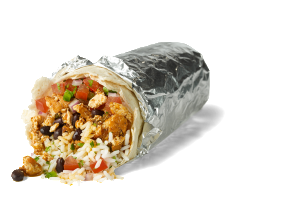 While this isn't a photo of my actual burrito, it is a police-artist sketch of the con man who had me believe he was a healthy alternative to other fast food.